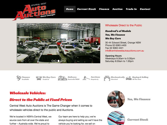 Visit Central West Auto Auctions Website